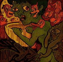 Pústulo. Um projeto de Ilustração de Isaac López Virgili (ISAC)         - 15.02.2017