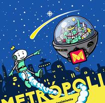 Cartel Metrópoli. A Graphic Design project by Alex Salu         - 17.02.2017