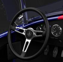 Shelby AC Cobra CGI 3D. Um projeto de 3D e Design gráfico de Ivan C         - 18.02.2017