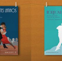 Festival de cine de San Sebastián - Zinemaldia 64. A Graphic Design project by Natalia Platero Roncero         - 21.02.2016