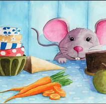 Rat. Un proyecto de Ilustración y Bellas Artes de Yolanda Cabrera Sánchez - 21-02-2017
