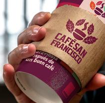 Marca para Cafetería - Café Orgánico. Un proyecto de Ilustración, Br, ing e Identidad y Diseño gráfico de formulacreativa - 28-02-2017