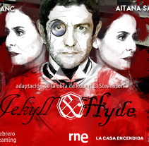 Ficción Sonora Jekyll &Hyde. A Illustration project by jesus pamplona - 19-01-2017