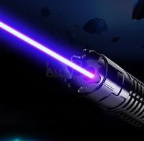 50000mW pointeur laser. A 3D project by szq95         - 02.03.2017