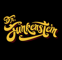 Dr. Funkenstein - Logo. A Illustration, and Graphic Design project by Matias Harina - 16-01-2017