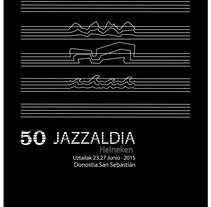 Cartel Jazzaldia 201. A Events, and Graphic Design project by Beatriz Perales Fernández de Gamboa         - 03.03.2017