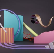Adidas women. Un proyecto de Fotografía, Dirección de arte, Diseño gráfico y Escenografía de I'm blue I'm pink  - 07-03-2017