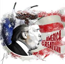 Proyecto Trump. Un proyecto de Ilustración de sa_ivan - 07-03-2017