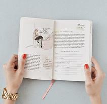 Diseño y maquetación de DIARIO personalizado para novias. Empresa de organización de bodas y eventos.. Un proyecto de Diseño y Diseño gráfico de Ángela Búa         - 08.03.2017