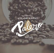 Licor Café Palero. A Br, ing, Identit, Graphic Design, and Calligraph project by Marta Nogueira         - 13.03.2017