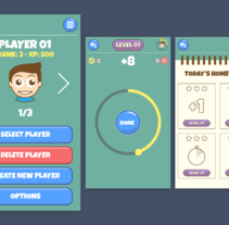 App videojuego. A UI / UX, and Graphic Design project by Alessio Conte         - 17.03.2017