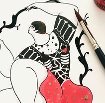 Inside Love. Un proyecto de Ilustración, Bellas Artes y Serigrafía de Sonia Alins Miguel - 27-02-2017