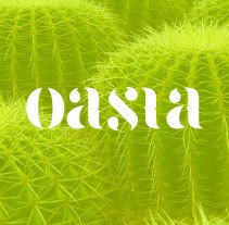 Oasia - Brand Design. A Art Direction, and Graphic Design project by Miriam Pérez Boix         - 09.01.2017