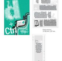 Logo, tarjeta y póster para campaña control de drogas de Sant Sadurní d'Anoia. Um projeto de Design, Br, ing e Identidade e Design gráfico de Yadira M.R.         - 17.06.2012