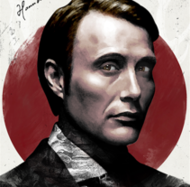 Hannibal Lecter (serie) by Ari B Miró. A Design, Illustration, and Graphic Design project by Ari B. Miró - 18-03-2017