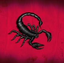 Scorpion. Un proyecto de Diseño e Ilustración de Luciano Szlomowicz - 22-03-2017