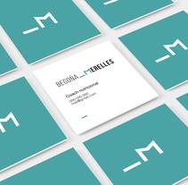 Begoña Merelles Personal Coach. Um projeto de Direção de arte, Br, ing e Identidade e Design gráfico de Andrea Abreu         - 01.02.2016