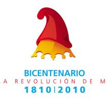 Logo Bicentenario revolución de mayo - Argentina. A Graphic Design project by Bruno Davoli         - 24.03.2017
