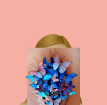 -Butterflies. A Design, Photograph, Graphic Design, Painting, and Collage project by Carmen Tortajada - 26-03-2017