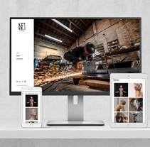 Web Nahuel Forchini . A Web Design project by Isaac Peñarroya          - 28.03.2017
