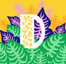 36 Days of Type // Designing letters. Un proyecto de Diseño e Ilustración de Marine Kersusan         - 15.03.2017