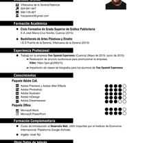 Curriculum Fran Segador. Un proyecto de Diseño, Fotografía, Br, ing e Identidad, Bellas Artes y Diseño gráfico de Fran Segador         - 30.03.2017