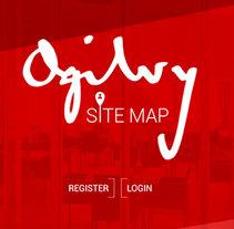 Ogilvy Sitemap. Um projeto de UI / UX, 3D, Direção de arte e Web design de Rubén Martín Fernández - 12-08-2016