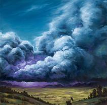Highstorm. Um projeto de Ilustração e Pintura de Rubén Megido         - 05.04.2017