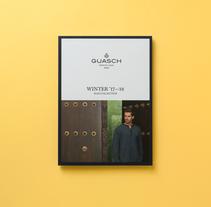 GUASCH. Un proyecto de Dirección de arte, Diseño editorial y Diseño gráfico de aplauso studio  - 01-04-2017