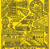 MONUMENT. Un proyecto de Ilustración y Diseño gráfico de Joan Giralt Rubio         - 10.04.2017