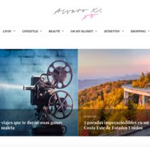 Web Alvarok.com. A Web Design project by Irina Alegre García         - 11.03.2017