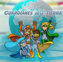 Los Guardianes de la Tierra.. A Animation project by Carlos Arciniega González         - 12.04.2017