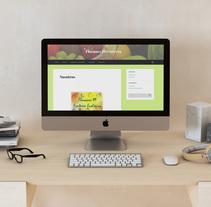 Página web Fruteria Floranes 19. Um projeto de Web design de Inmaculada  Gutiérrez Mier - 15-09-2015