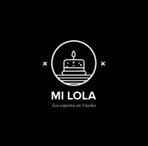 PASTELERIA MI  LOLA. A Design, Br, ing, Identit, and Graphic Design project by PV STUDIO  - 24-04-2017
