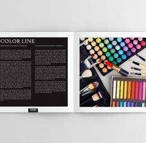 Catálogo Make Up. Un proyecto de Diseño gráfico de Angela Maria Lopez         - 01.01.2016