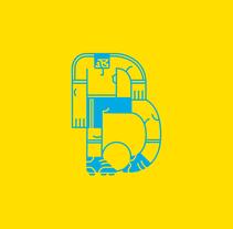 Association Ball Club - 36 days of type. Um projeto de Ilustração, Design de personagens e Tipografia de Gustavo Berocan         - 22.05.2014