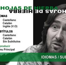 DVD & Blu-ray authoring. Um projeto de Design interativo de Fidel Peña Pérez - 27-09-2015