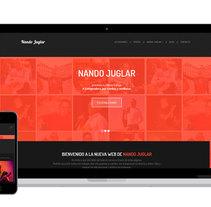 Nando Juglar  - Cantautor. A Web Design project by Luis Mazuecos Salas         - 28.01.2017