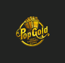 Pop Gold - Truck. A Design, Graphic Design, and Vector illustration project by Victor Andres         - 28.04.2017