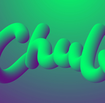 3D Lettering. A 3D, and Lettering project by Juan Rodríguez - 15-05-2017