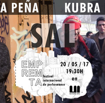 EMPRERMTA 2017 _sal_ MELINA PEÑA _ KUBRA KHADEMI. A Curation, Events, and Fine Art project by EMPREMTA festival internacional de performance         - 20.05.2017