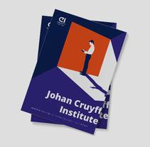 Portadas Másters Cruyff Institute. Um projeto de Design gráfico e Ilustración vectorial de Elia Moliner         - 20.03.2016