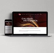 Diseño web y gráfico: Uva y Cebada. Un proyecto de Diseño gráfico, Diseño Web y Desarrollo Web de Javi D. C. - 07-10-2015