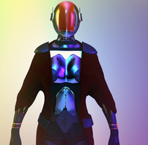 Modelado Cyberwoman. A 3D, and Character animation project by Luis Cortez Castillo         - 10.04.2017