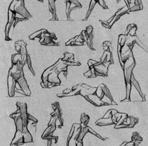 Life Sketches. Círculo. Un proyecto de Ilustración y Bellas Artes de Carlos de Hevia - 15-02-2017