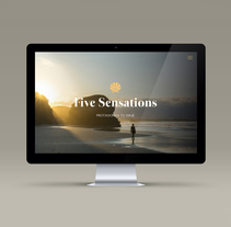 Five Sensations. A Br, ing, Identit, Editorial Design, and Web Design project by luzerta  - 30-05-2017
