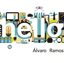 Hello!!!...mi portfolio.. Um projeto de Arquitetura da informação de Alvaro Ramos Candia         - 02.06.2017