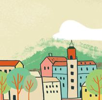 Cartel para la Universidad de Verano de Teruel . A Illustration project by Marina Montero         - 05.06.2017