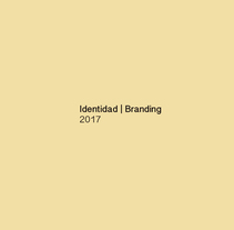 Identidad I Branding 2017. A Design, Music, Audio, Art Direction, Br, ing, Identit, Graphic Design, and Product Design project by Ion Benitez         - 06.06.2017