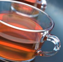 Tea cup. A Design, and 3D project by Cristina García Ruanova         - 07.06.2017